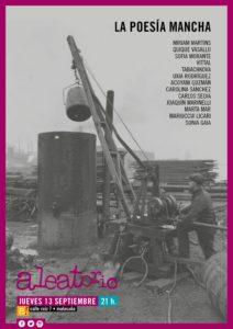 Cartel anunciador de la Fiesta de La Poesía Mancha