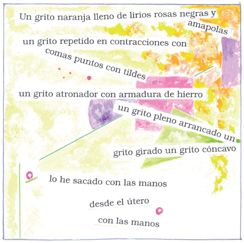 poesía de Marta Mar. La poesía mancha