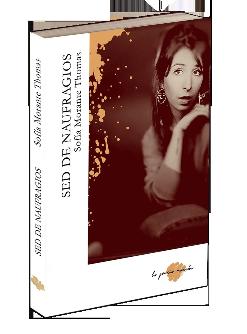 Portada del libro de poesía de Sofía Morante en La poesía Mancha