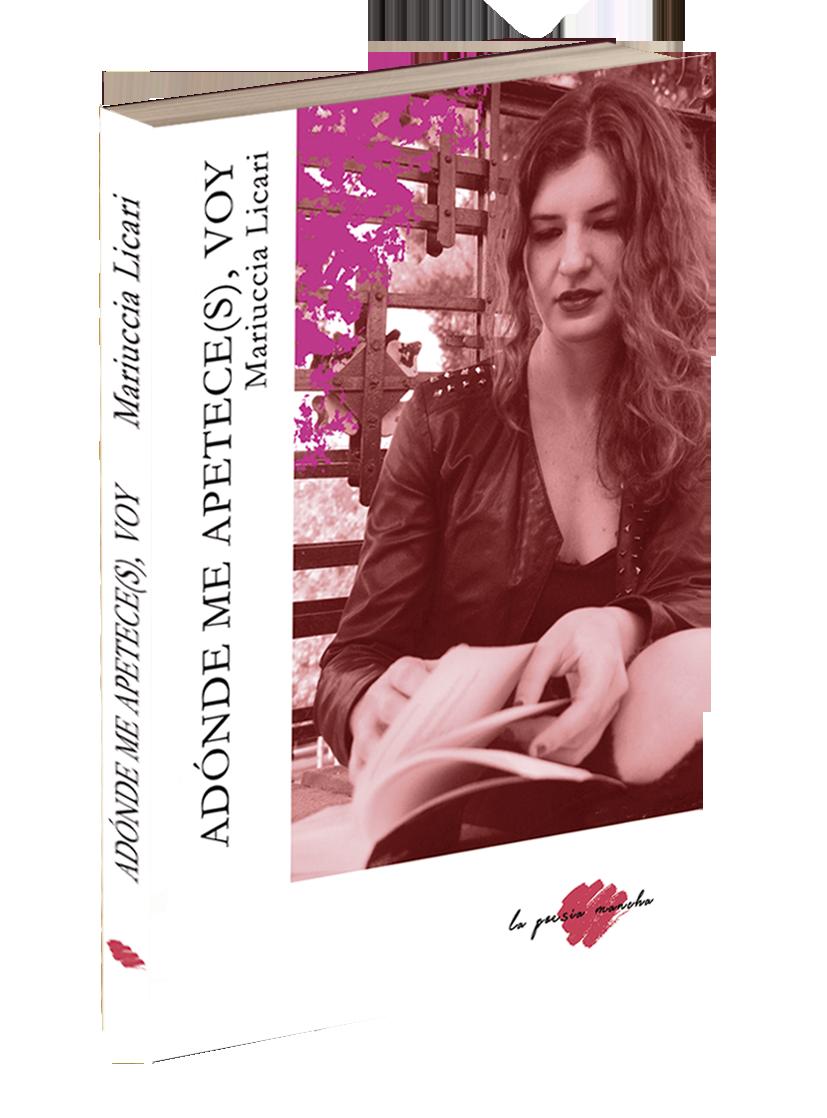 Portada libro de poesía de Mariuccia Licari