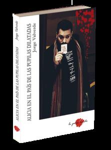 Portada libro de poesía de Jorge Valverde