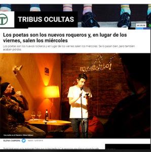 La Sexta hace un reportaje sobre Editorial La poesía mancha y sus poetas