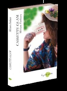 Libro de poesía Cassette glam. Editoriales de poesía