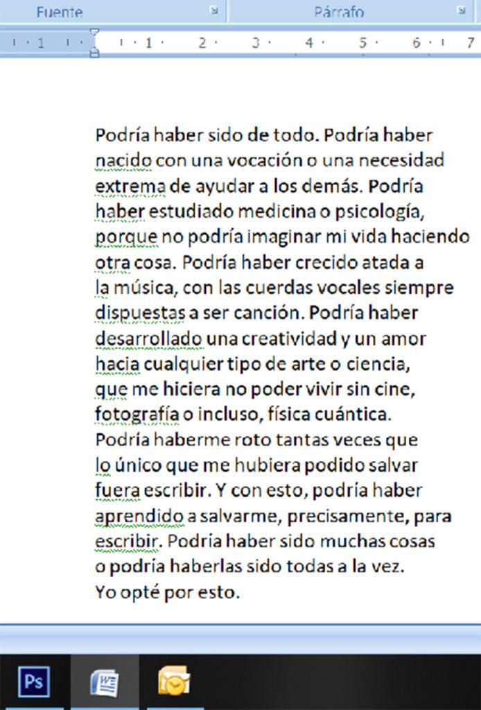 Biografía de la escritora de poesías Amaia Ramos