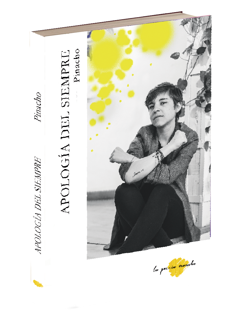 Libro de poesía de Andrea Pinacho