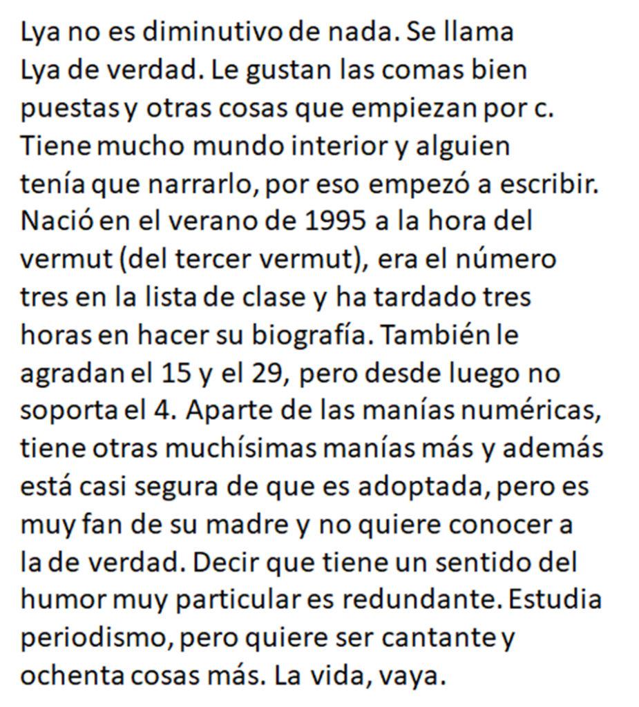Biografía de la escritora de poesía Lya Osorio