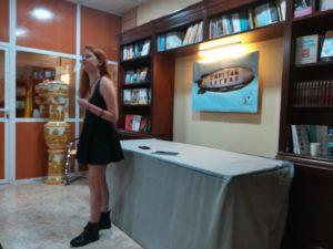 Recital poético con Tabachkova