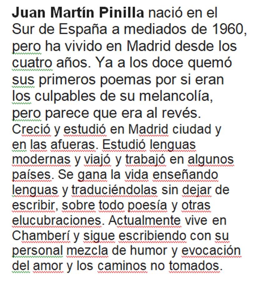 Biografía de Juan Pinillas
