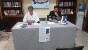 Presentación del poemario de Juan Pinillas